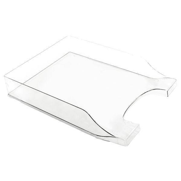 Лоток для бумаги горизонтальный АРНИКА пластик 8080* Симметрия_Димчатий