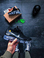 Мужские кроссовки Off-White x Nike Air VaporMax Black