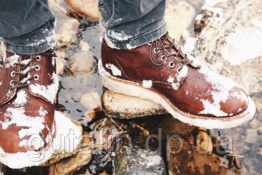 Обработка обуви защитными и восстанавливающими средствами