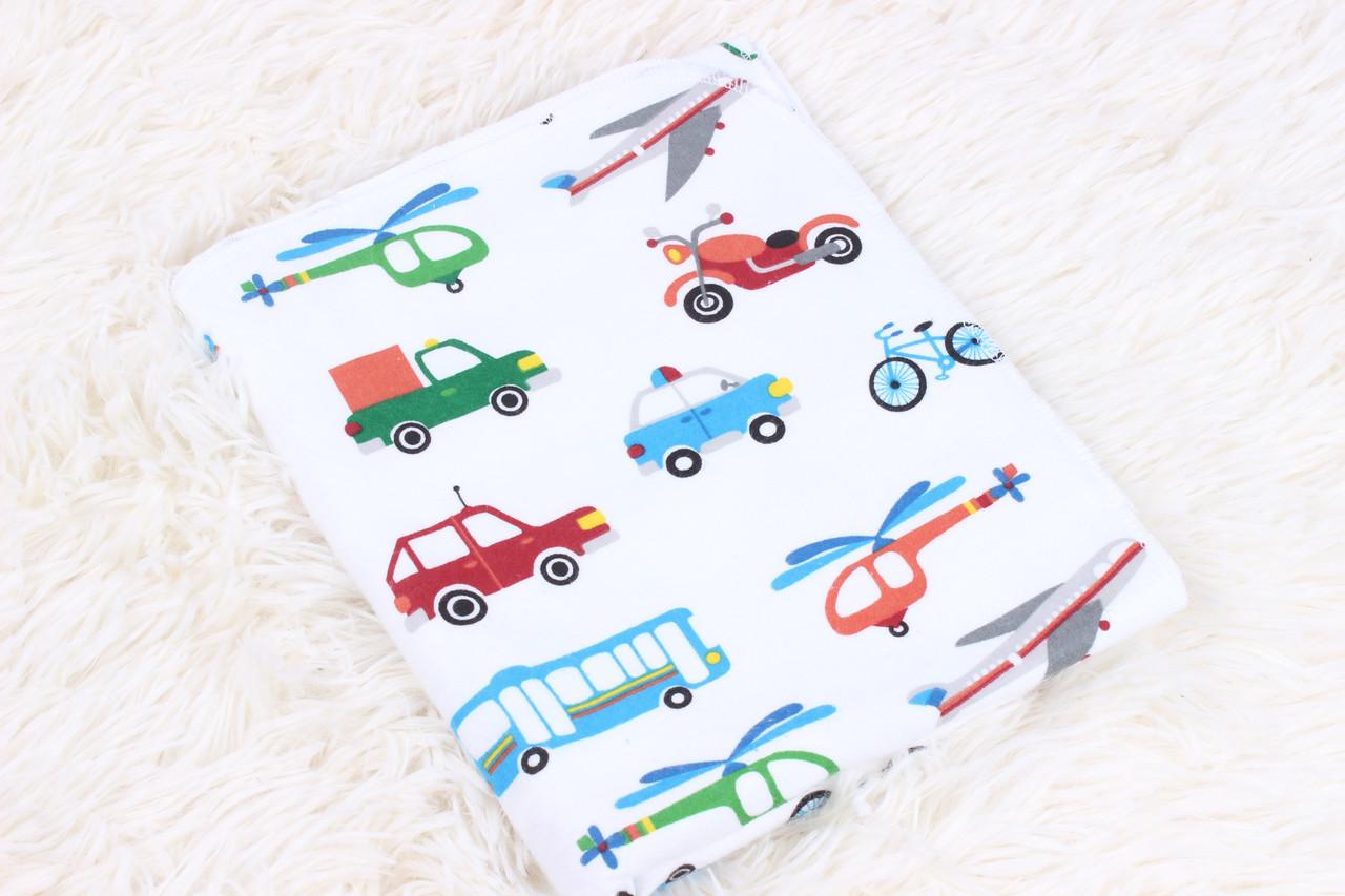 Фланелевая пеленка Транспорт