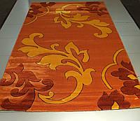 Рельефный ковер Friese Gold 8747 оранжевый прямоугольный