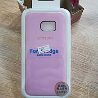 Кожаный чехол на Samsung S7 EDGE G935 BACK COVER