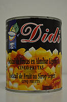 Фруктовый коктейль в легком сиропе Didi 840 г