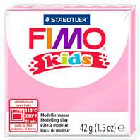 Глина полимерная FIMO kids 42г розовая светлая 8030-25