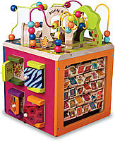 Развивающая деревянная игрушка - ЗОО-КУБ (размер 34х30х45 см) (BX1004X), фото 1