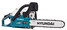 Бензопила Hyundai X 360 (2.3 л.с., шина 35 см), фото 3