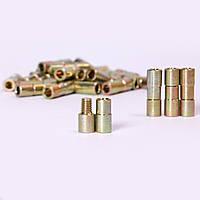 Втулка соединительная стальная с резьбой для алмазного каната