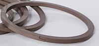 Кольца уплотнительные коробки перемены передач SB-165 тефлоновые  WTE80x90x4/W  для фронтальных погрузчиков L-