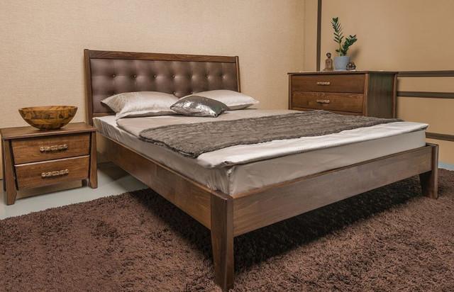 Кровать двуспальная Сити Премиум без изножья