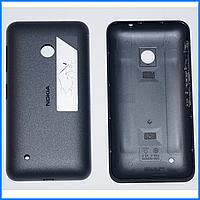 Задняя крышка Nokia 530 Lumia, черная, оригинал
