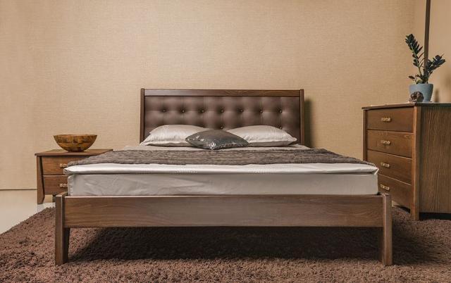 Кровать двуспальная Сити Премиум без изножья (фото 2)