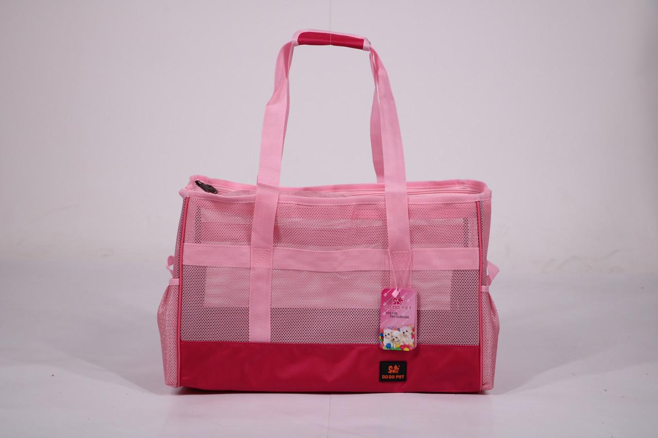 Сумка переноска для собак и котов Do do pet, Summer Pink розовый