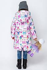 Утепленный детский весенний плащ  размер 92, 98, 104, фото 3