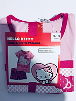 Детская пижама летний костюм для девочки Hello kitty Германия Lupilu