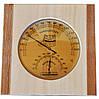 Термометр гигрометр для сауны ТГС исп.3 Вишня-Сосна