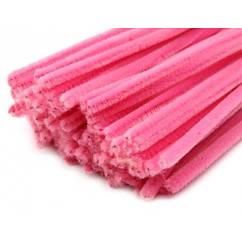 Синельная (пухнаста) дріт, рожева