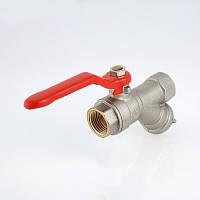 Кран шаровой со встроенным фильтром VT.292. VALTEC, фото 1