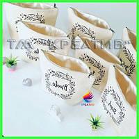 Брендированные косметички с логотипом оптом (под заказ от 100 шт)