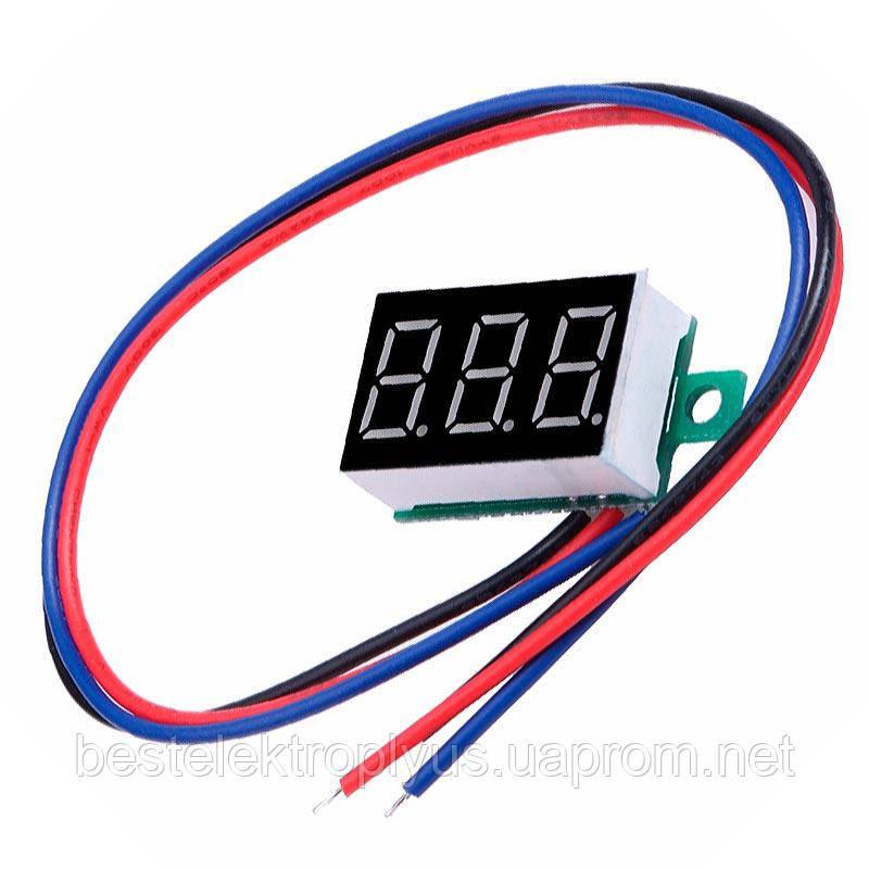 Вольтметр цифровой DVM-36.3 постоянного тока
