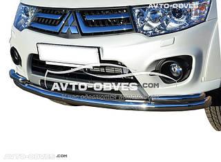 Дуга нижнего бампера Mitsubishi Pajero Sport