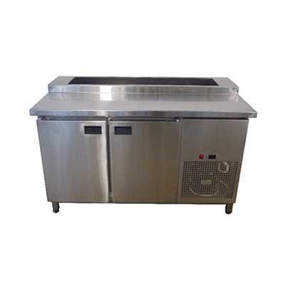 Холодильный стол для пиццы Tehma SHS27