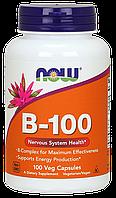 B-100 Complex / Комплекс Б-100, 100 капсул (комплекс витаминов группы B (B1, B2, B3, B5, B6, B12))