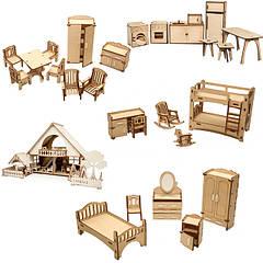 Мебель для кукольных домиков