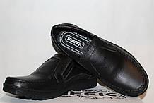 Туфлі чоловічі з натуральної шкіри , чорні 39-48 р арт 304 Traffic.