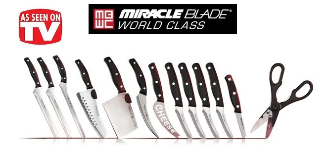 Набор ножей Miracle Blade Мирэкл Блэйд FC