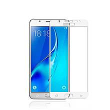 Защитное стекло OP Full cover для Samsung J710 J7 2016 белый