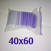 Пакет zip-lock 40*60 мм