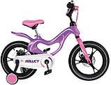 Велосипед двухколесный детский Hollicy 14 дюймов на дисковых тормозах, фото 3