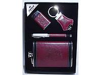 NFEE282 Подарочная фляга, подарочный набор для мужчины:фляга + ручка + зажигалка + брелок, Фляга 270 мл