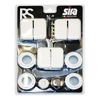 Комплект для радиаторов Sira серии RS 1х3/4