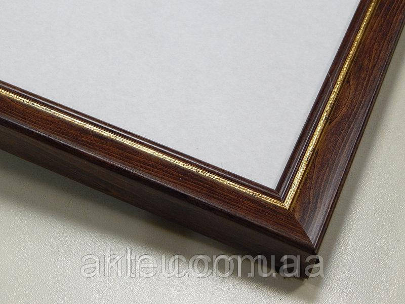 Рамка для картин 30*30 со стеклом, профиль 22 мм (код 221-210-3030)