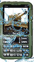 Лучший телефон TELE1 T34 (Влаго-пыле защищенный телефон IP67