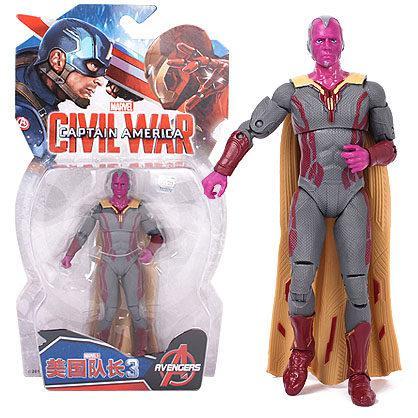Фігурка Віжен (Марвел, Месники), 18 см - Vision, Avengers, Marvel