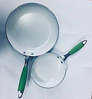 Набор из двух сковородок Biolux kerama (Биолюкс Керама) (28см и 20см)