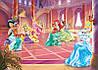 Фотообои бумажные на стену 368х254 см : Принцессы в замке (2489P8CN)