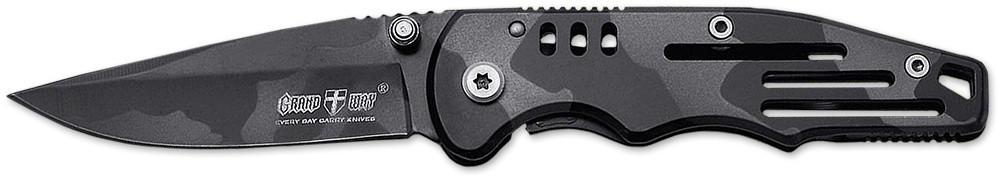 Раскладной нож 01982 (складной карманный нож, клинок в рукояти) MHR /05-3