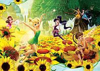 Фотообои детские для девочки Дисней (254х184, 368х254) Феи: Волшебный лес (199CN)