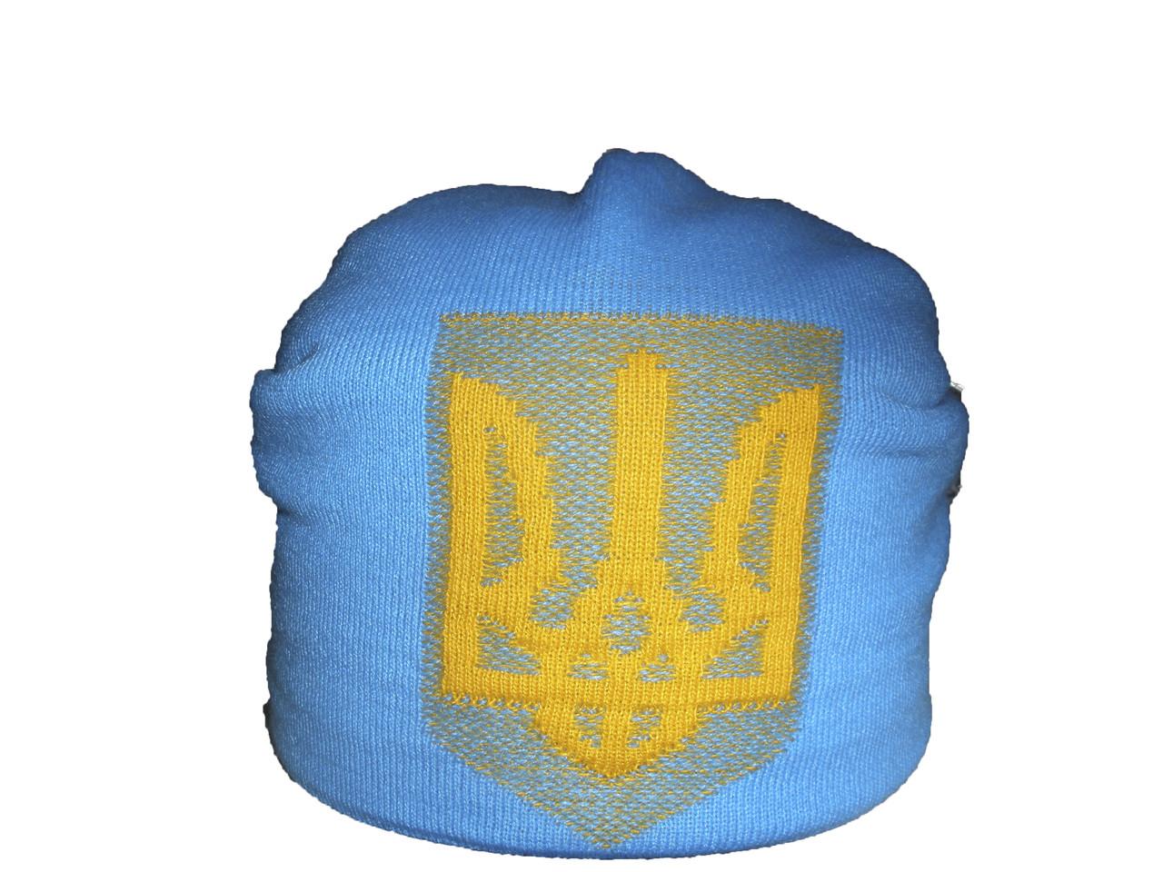 Шапка  с украинской символикой