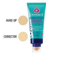 DC Make-up Acnecover and Corrector 02 Тональный  крем с корректором для проблемной кожи, 30 мл + 3 г