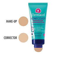 DC Make-up Acnecover and Corrector 03 Тональный  крем с корректором для проблемной кожи, 30 мл + 3 г