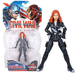 Фігурка Чорна Вдова (Месники, Марвел), 18 см - Black Widow, Avengers, Marvel