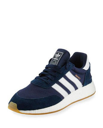 Кроссовки мужские Adidas INIKI RUNNER DK. Blue синие, фото 2