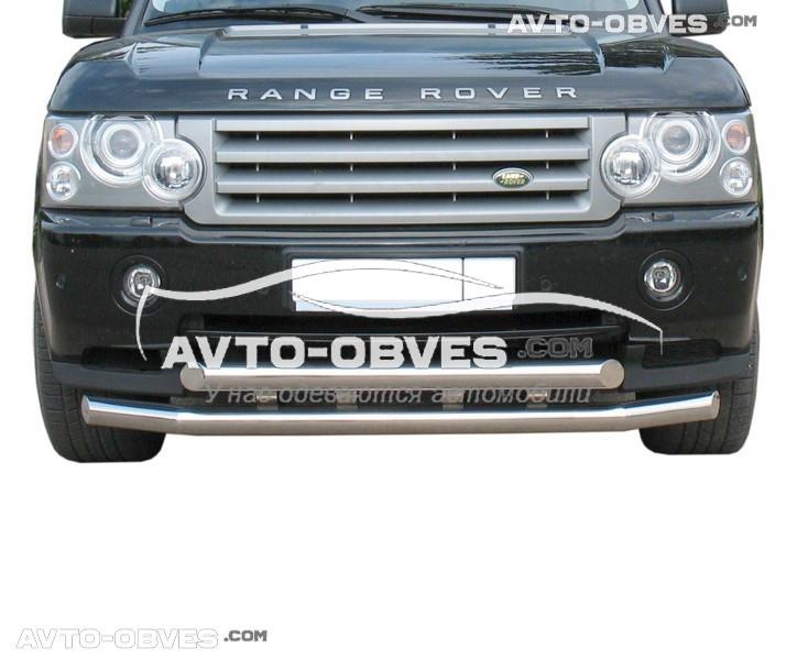 Двойной ус для Range Rover Vogue 2003-2012 (4 пластины)