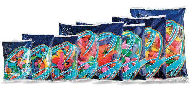 """Надувные шары матовые """"День рождения"""" Gemar Balloons AD80/83 (21 см/8"""", арт. 80831, упаковка 100 шт)"""