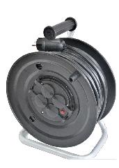 Электрический удлинитель на катушке без з/к  25м (ПВС 2*1,5)