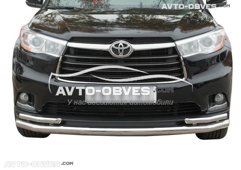 Дуга нижнего бампера Toyota Highlander